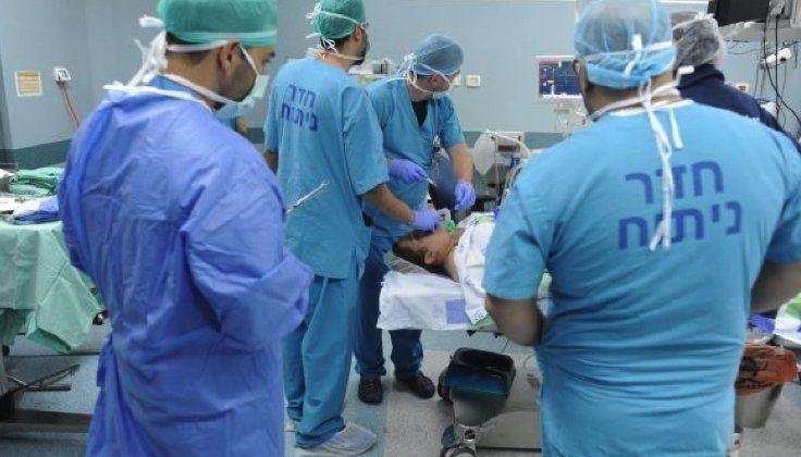 An operating room at Western Galilee Hospital in Nahariya, April 2017. credit: Rami Shllush