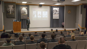 Dr. Sela Speaks at West Point