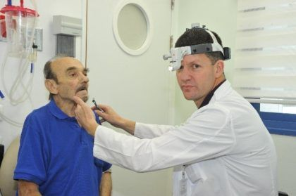 A First for Israel:  Otolaryngologists successfully surgically treated a patient suffering from Osler-Weber-Rendu Disease.