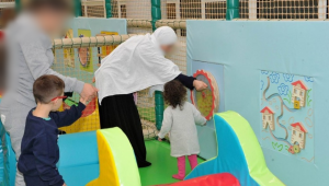New indoor playground opened for young patients to relax and play