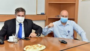The Deputy Minister of Health, Yova Kish visits Galilee Medical Center