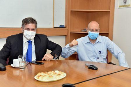 The Deputy Minister of Health, Yova Kish visits Galilee Medical Center