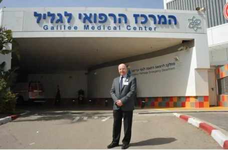 Dr. Masad Barhoum, CEO of Galilee Medical Center offers medical help to Lebanon