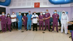 Galilee Medical Center reopened its second #coronavirus ward.