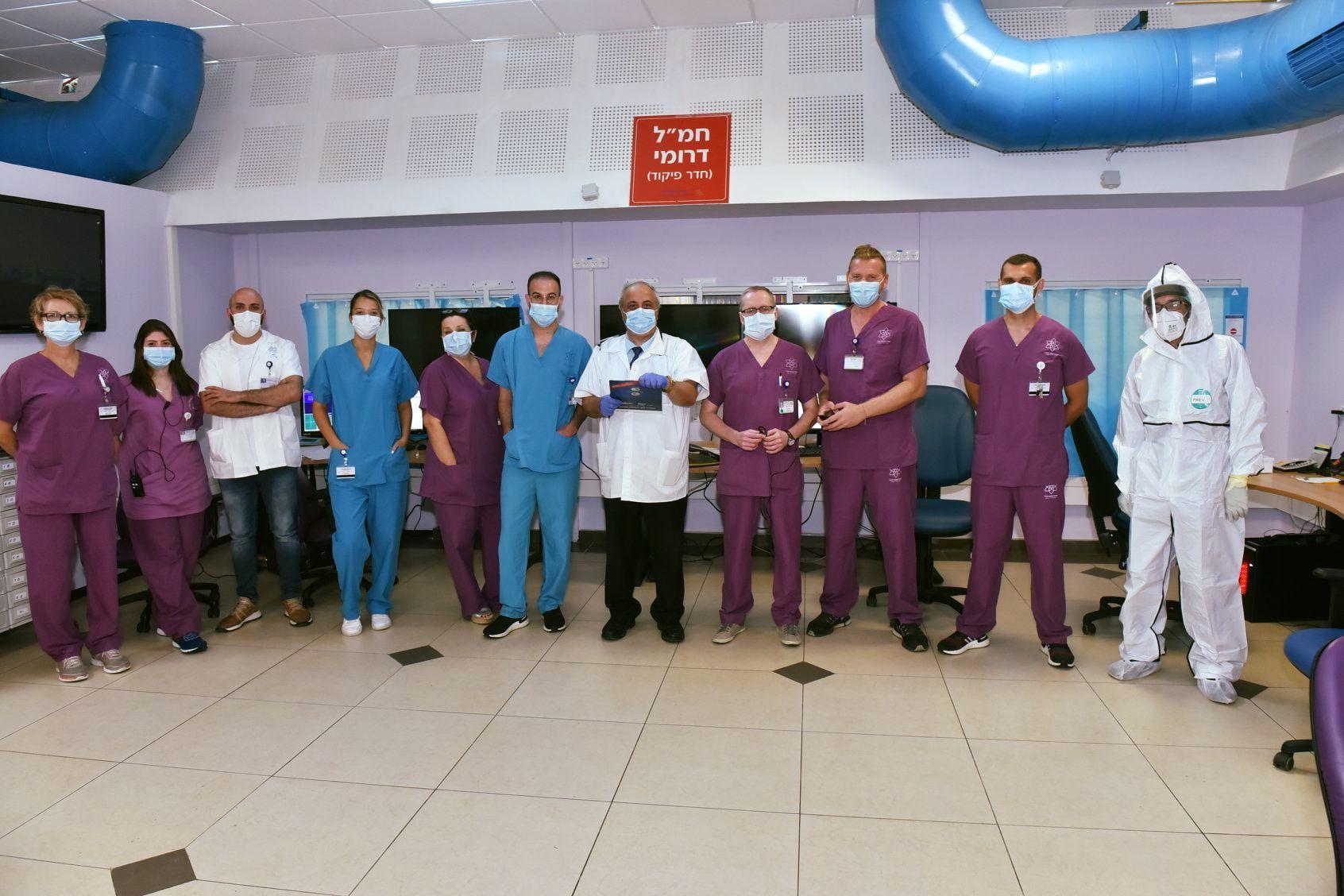 Galilee Medical Center reopens its second Coronavirus ward