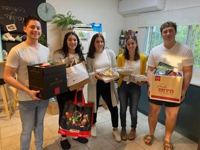 AFGMC and the Shinshinim volunteer program