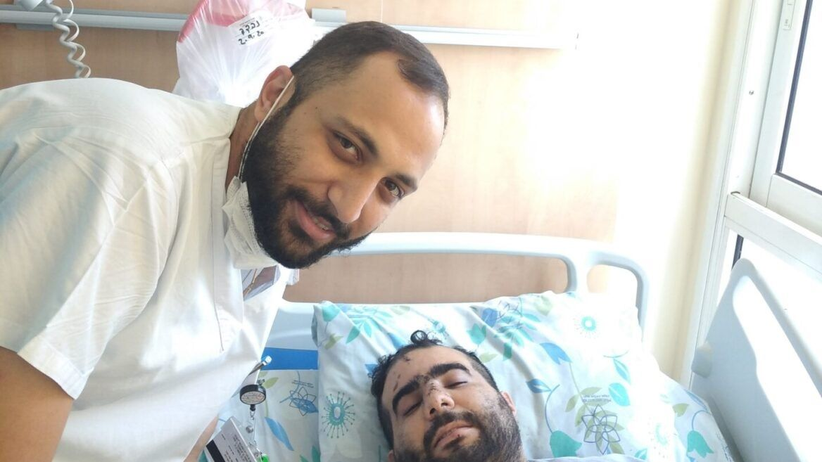 Arab nurse reunites with Jew he saved from Acre lynching
