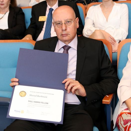 Prof. Masad Barhoum, CEO of the Galilee Medical Center, receives two prestigious honors.